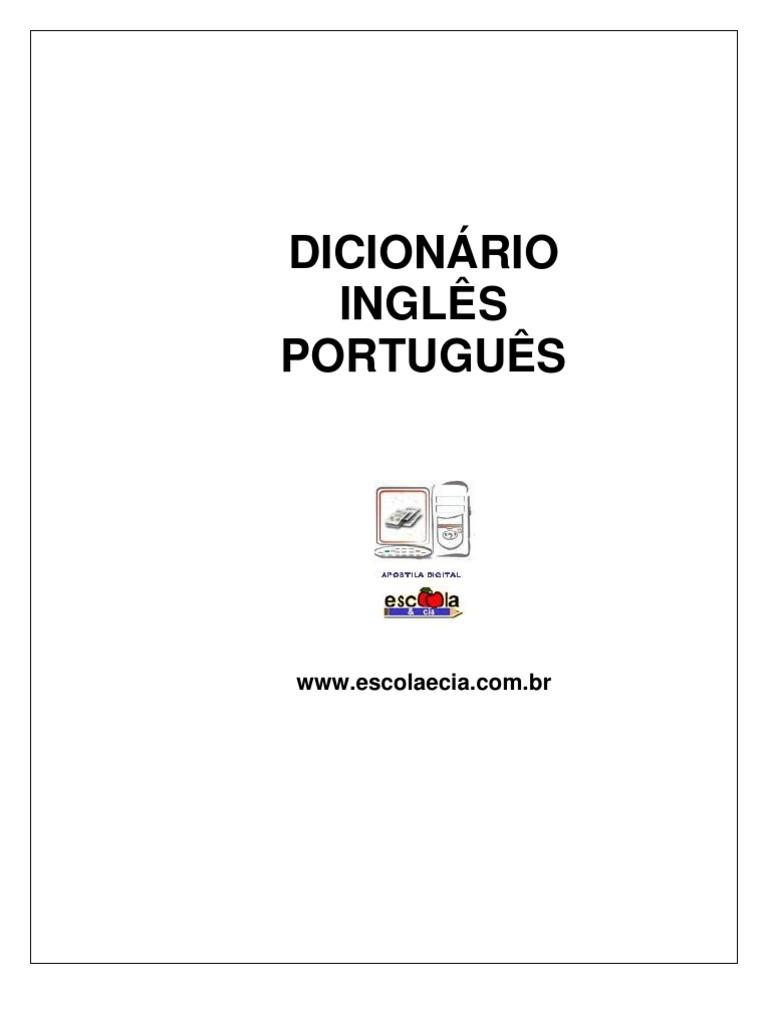 f5833c833 Dicionário Inglês-Português