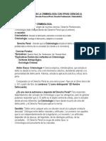 RELACION DE LA CRIMINOLOGIA CON OTRAS CIENCIAS..docx