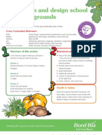 TEACHER WORKSHEET - Audit, plan and design school garden and grounds - Irish Food Board