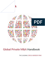 Global Private Mergers & Acquisition Handbook 2016