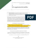 Instituto de Investigaciones Jurídicas de la UNAM. Teorías de la Argumentación Jurídica