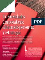 Universidades Corporativas Alineando Personas y Estrategias