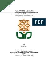 Izzi_Filsafat René Descrates dan Pendidikan Islam