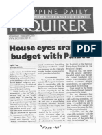 Daily Inquirer, Feb. 5, 2020, House eyes crafting budget with Palace.pdf