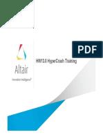 Hypercrash training
