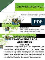 DETERMINACION DEL EFECTO DE UNA BACTERIOCINA ADICIONADA EN QUESO COSTEÑO