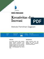 Modul Kreativitas dan Inovasi [TM6].docx