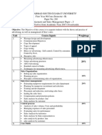 Advertisement and Sales Management Paper – 2
