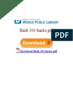 bash-101-hacks-pdf