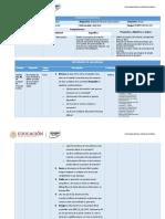 Planeación didáctica Unidad 1 2000 S1 B1