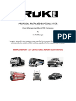 Fleet Maintenance Proposal by Rukse