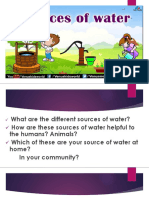 DIFFERENT SOURCES OF WATER ppt2.pptx