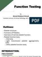 Platelet Function Tests - dr makboul 2018.pdf