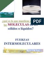 Fuerzas intermoleculares presentación