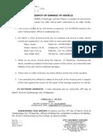 AFFIDAVIT OF DAMAGE TO VEHICLE.docx