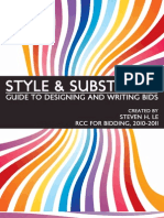 Style and Substance - Guide to Bid Designing and Writing