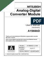 A1S68AD - User's Manual (Hardware) IB(NA)-0800371-B (05.08)