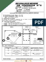 Devoir de Contrôle N°2 - Génie mécanique technique SYSTEME DE FABRICATION Du CARTON ONDULÉ - 3ème Technique (2011-2012)  Elève faissal (2)