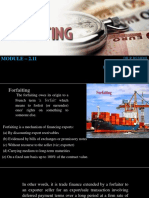 Module 2.11  Forfaiting ppt
