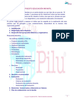 Supuesto nº1 Ed.Infantil Solución C.Valenciana