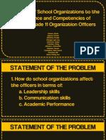 Research on School Organizations