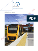 As 7633(2012) - Railway Infrastructure - Clearances