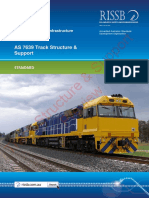 As 7639(2013) - Track Structure and Support