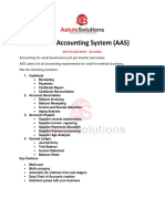 Astute Accounting System