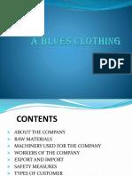 blues clothes