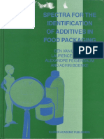 Spectra for the identification of additives in food packaging.pdf