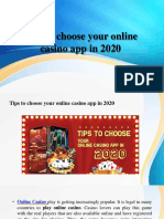 Tips to Choose Your Online Casino App in 2020-Converted
