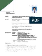 Jaswanthi's CV @ 19-Dec-2019