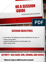 Writing a session guide.pptx