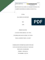 Informe sobre el proceso de evaluación, el análisis funcional y el diseño de tratamiento siguiendo el modelo conductual 2