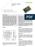 Datasheet Humidity Sensor SHT1x