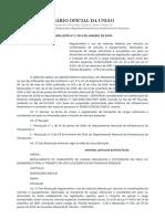 RESOLUÇÃO Nº 1, DE 6 DE JANEIRO DE 2020