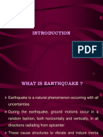 Earthquake resistantdesign of structures