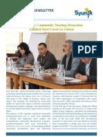 Syunik NGO Newsletter Issue 35