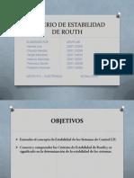 Tarea#3 - Criterios de estabilidad de Routh