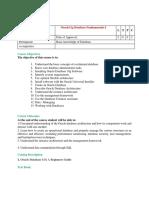 Oracle Program Electives for Sem IV