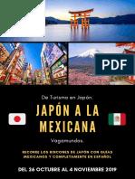 ITINERARIO JAPÓN OTOÑO