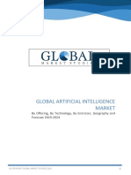 Artificial Intelligence Market by Offering, By Technology, By End User, Geography and Forecast 2019 to 2024