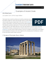 Top 10 Magnificent Examples of Ancient Greek Architecture