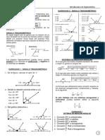 Ángulo trigonométrico y medidas angulares