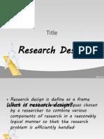 Report( research design)-2