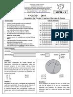 V OMFM - Prova - Nivel 1 - 2019.pdf