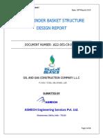 1622-DES-CR-01_Gas cylinder basket design report_R0