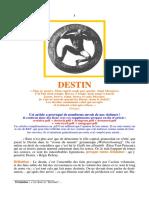 Le destin_Article
