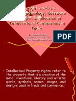 Copyright vis-à-vis International treaties