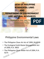 OVERVIEW OF PHILIPPINE ENVIRONMENTAL LAWS